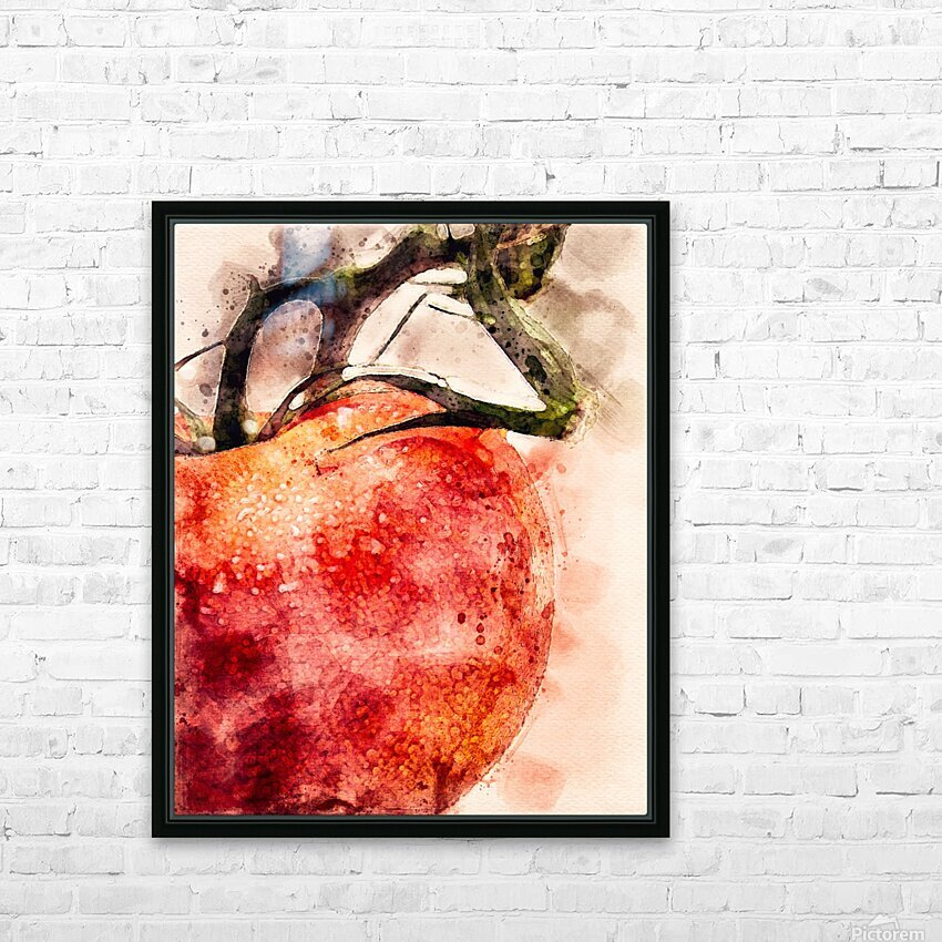 Tomato HD Sublimation Metal print with Decorating Float Frame (BOX)
