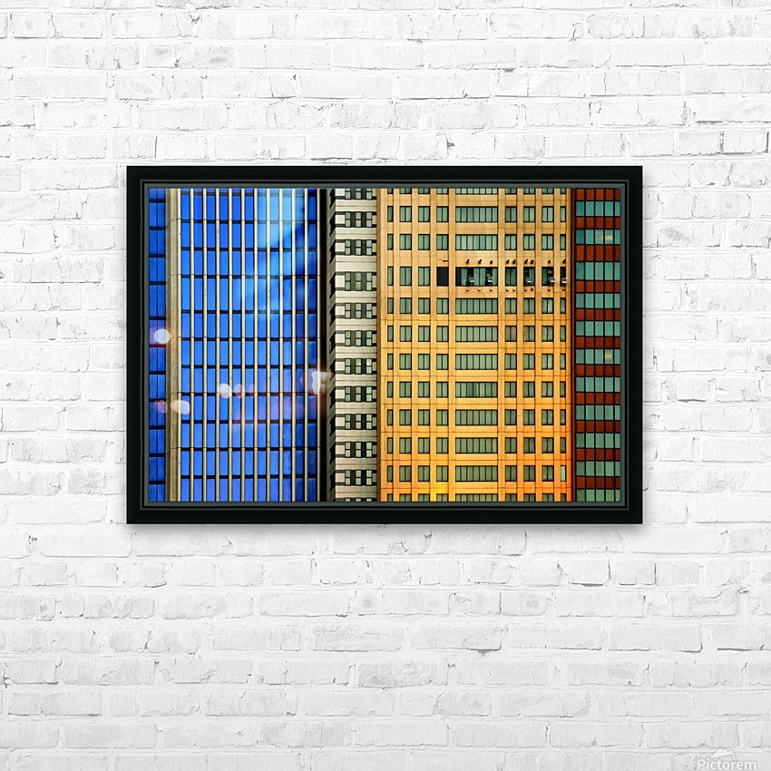 Windows on the City by So Sad Mathilde HD Sublimation Metal print with Decorating Float Frame (BOX)