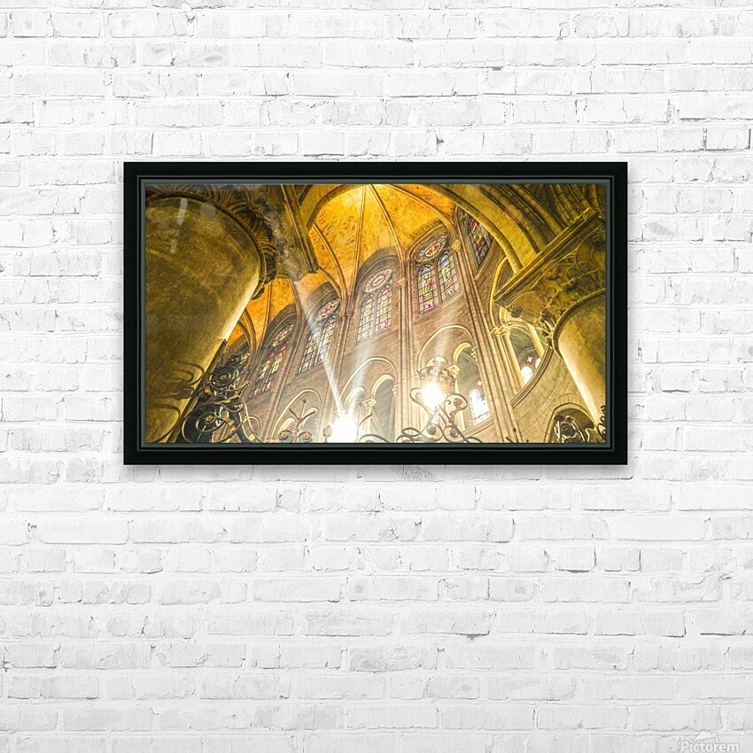 Divine Light HD Sublimation Metal print with Decorating Float Frame (BOX)