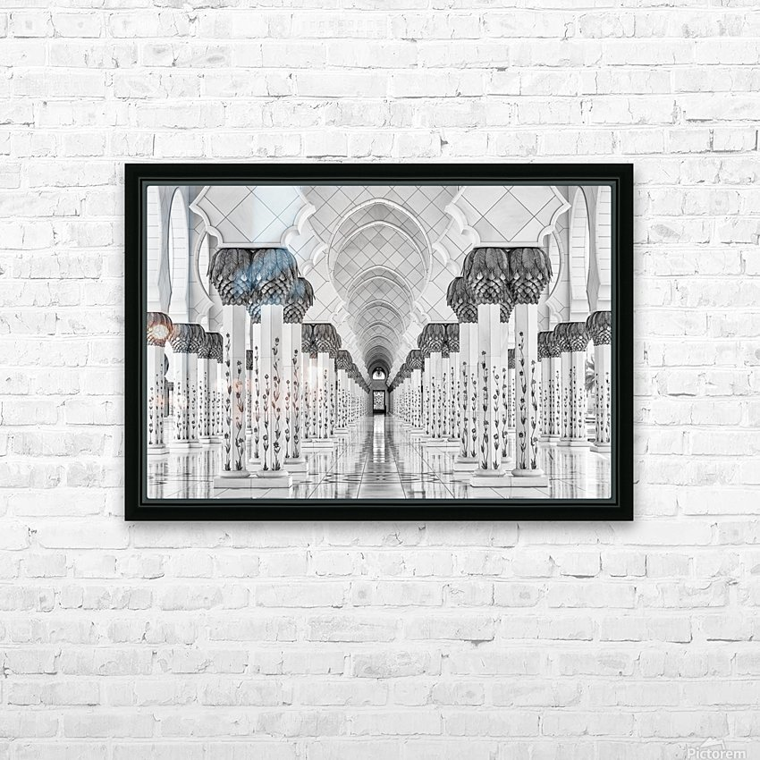 Kind of Symmetry HD Sublimation Metal print with Decorating Float Frame (BOX)