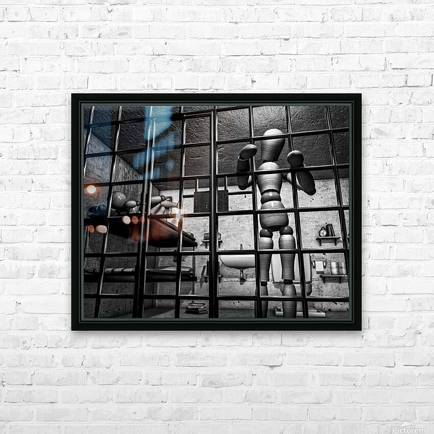 Cell Mates HD Sublimation Metal print with Decorating Float Frame (BOX)