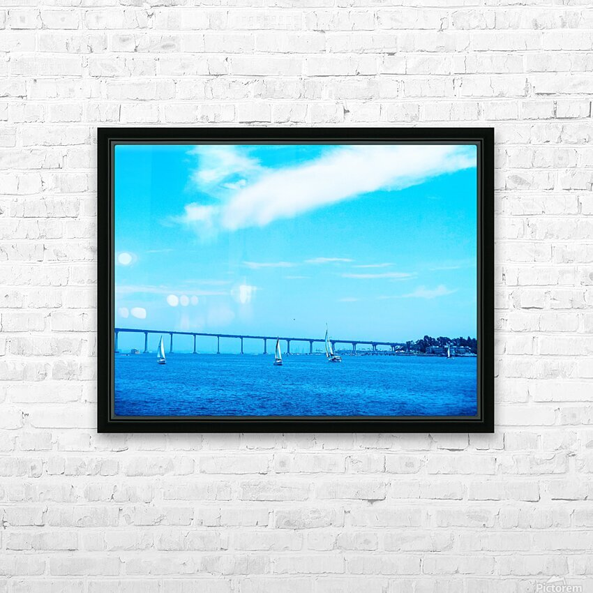 The Bay @ San Diego HD Sublimation Metal print with Decorating Float Frame (BOX)
