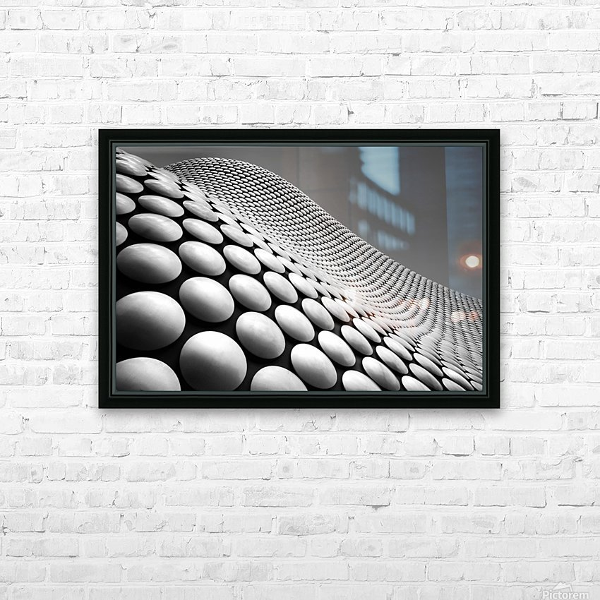 Curve HD Sublimation Metal print with Decorating Float Frame (BOX)