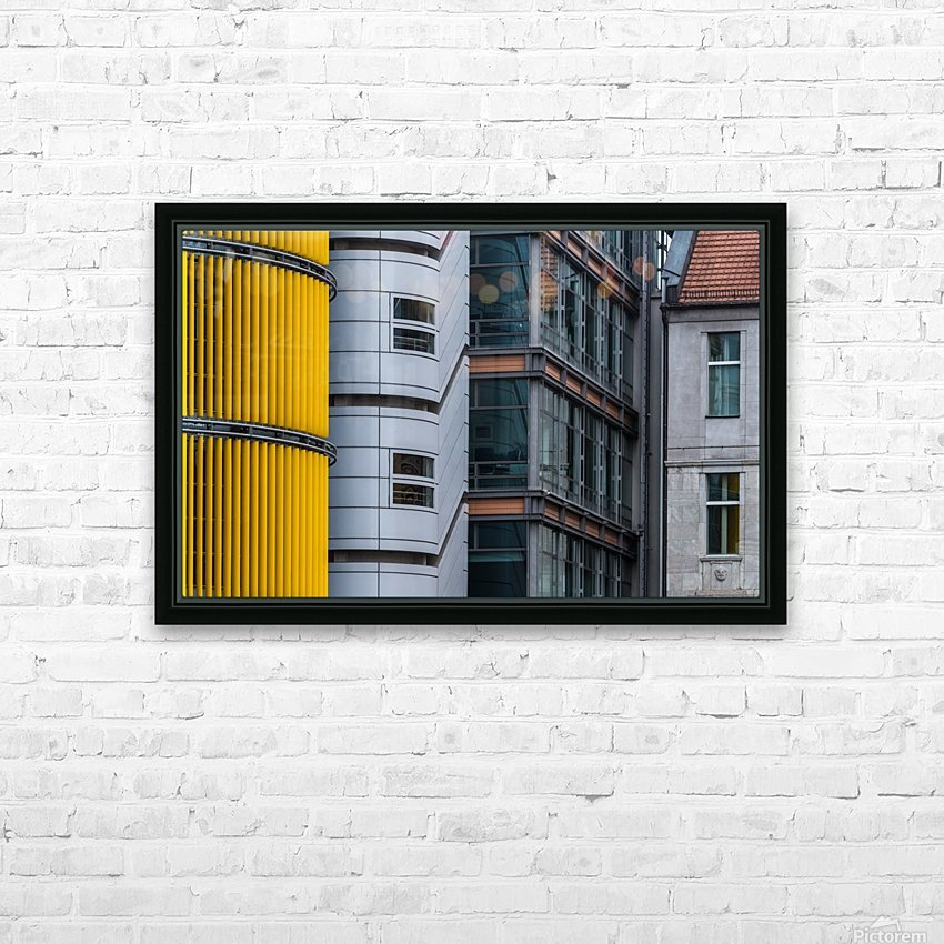 Opposite attraction III by Benjamin Brosdau  HD Sublimation Metal print with Decorating Float Frame (BOX)