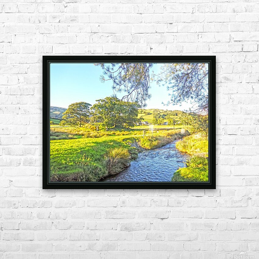 One Day in Wales 3 of 5 HD Sublimation Metal print with Decorating Float Frame (BOX)