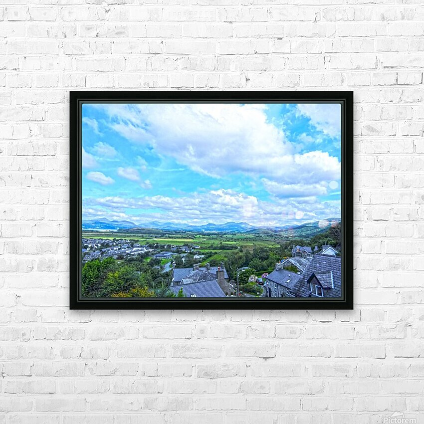 One Day in Wales 2 of 5 HD Sublimation Metal print with Decorating Float Frame (BOX)
