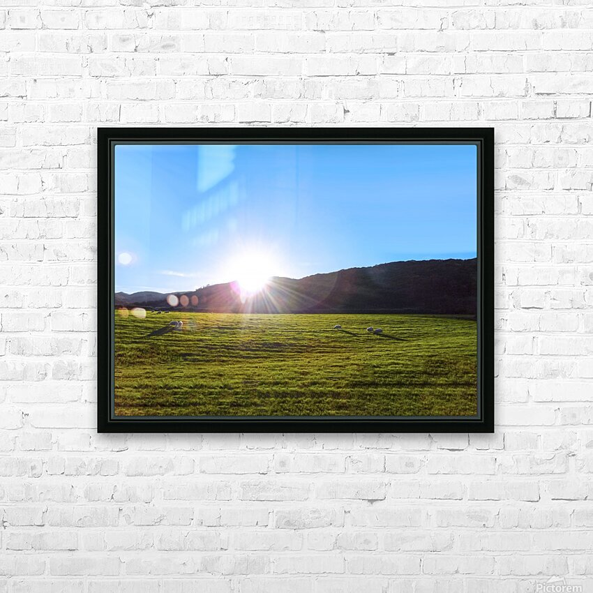 One Day in Wales 5 of 5 HD Sublimation Metal print with Decorating Float Frame (BOX)