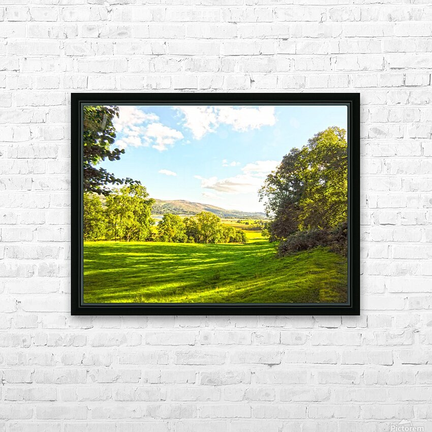 Wales in Spring HD Sublimation Metal print with Decorating Float Frame (BOX)