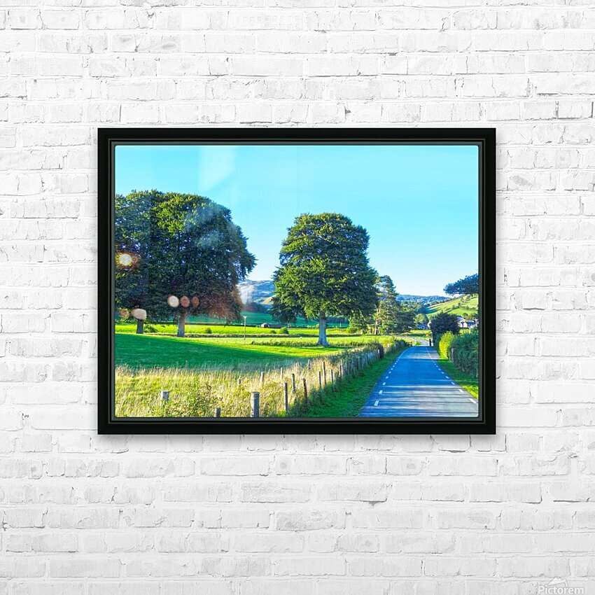 One Day in Wales 1 of 5 HD Sublimation Metal print with Decorating Float Frame (BOX)