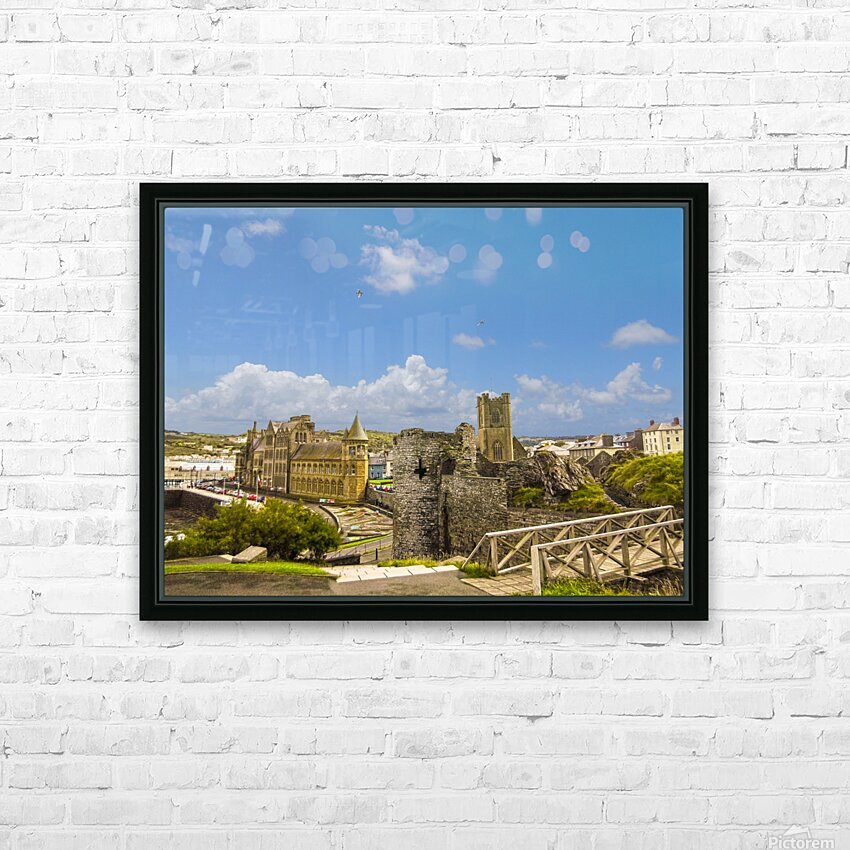 Wondrous Aberystwyth 1 of 5 HD Sublimation Metal print with Decorating Float Frame (BOX)