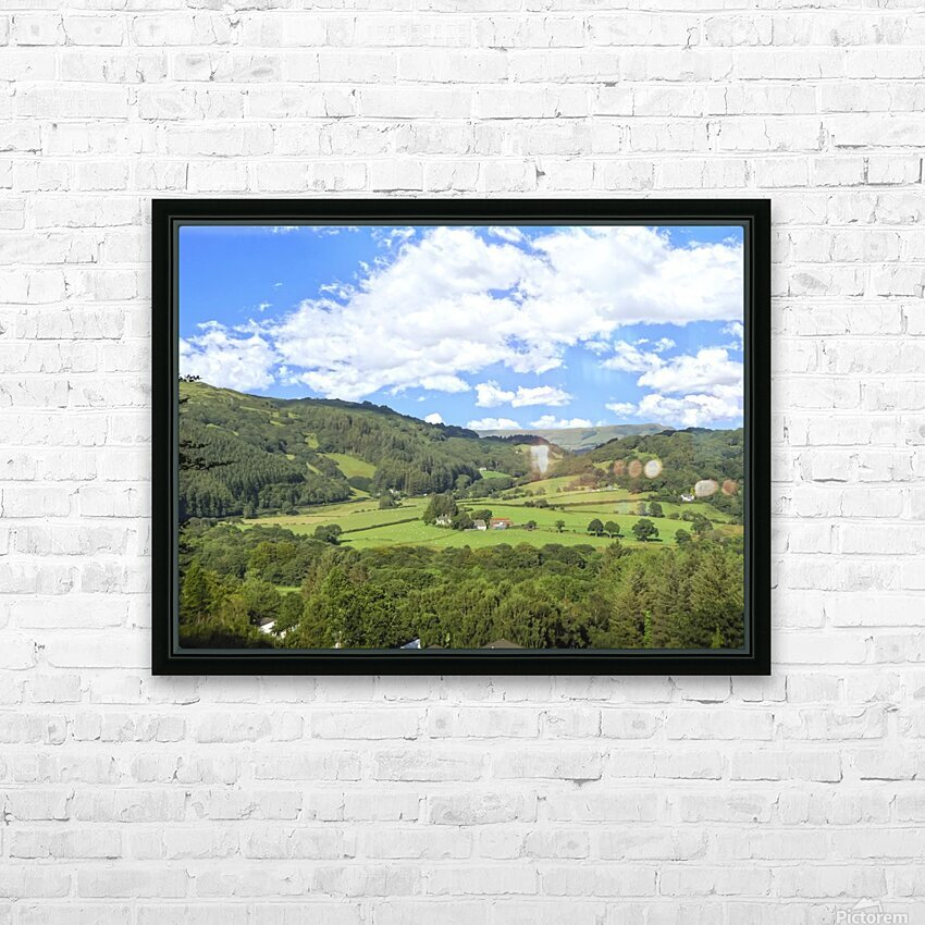 Wonderful Wales HD Sublimation Metal print with Decorating Float Frame (BOX)