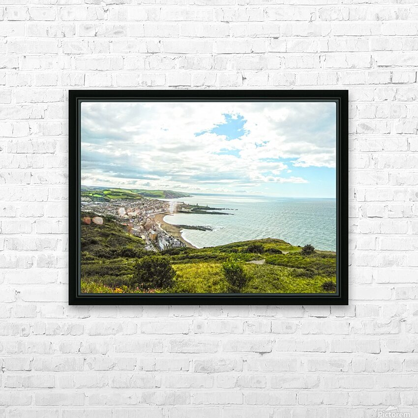 Wondrous Aberystwyth 5 of 5 HD Sublimation Metal print with Decorating Float Frame (BOX)