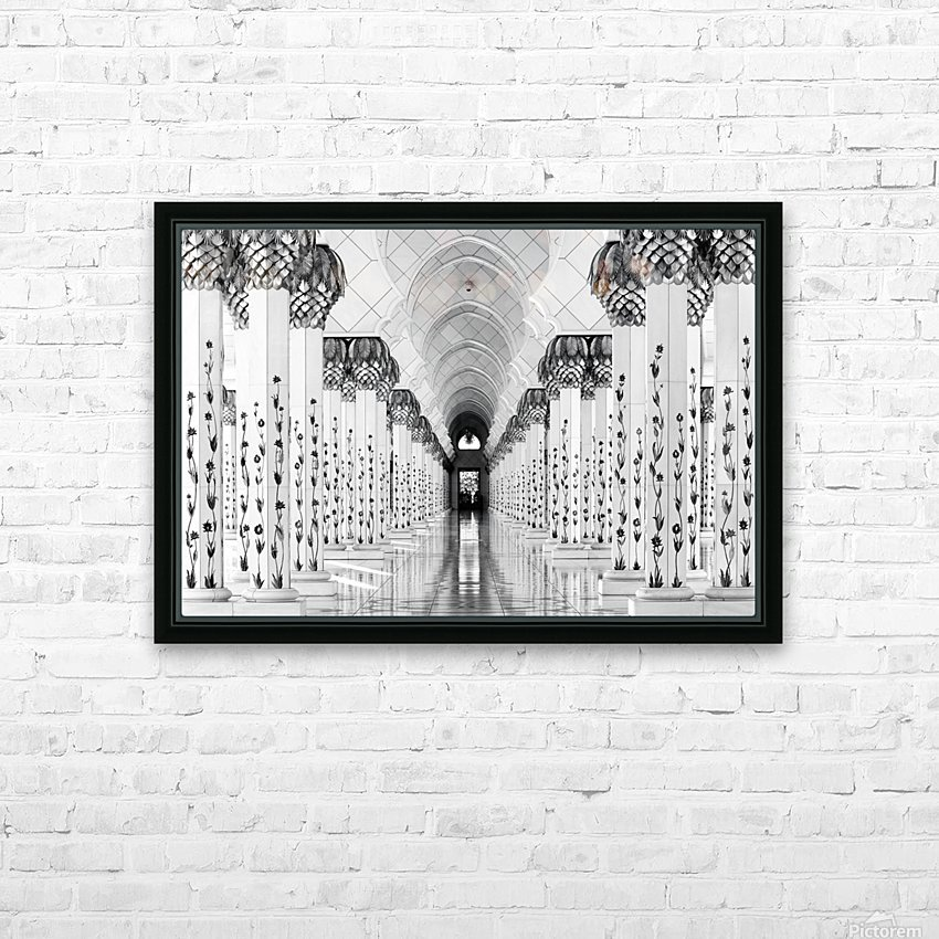 Sheik Zayed Mosque HD Sublimation Metal print with Decorating Float Frame (BOX)
