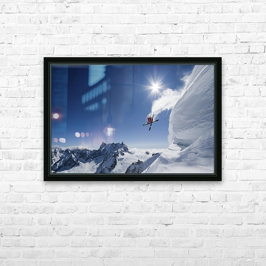Higher HD Sublimation Metal print with Decorating Float Frame (BOX)