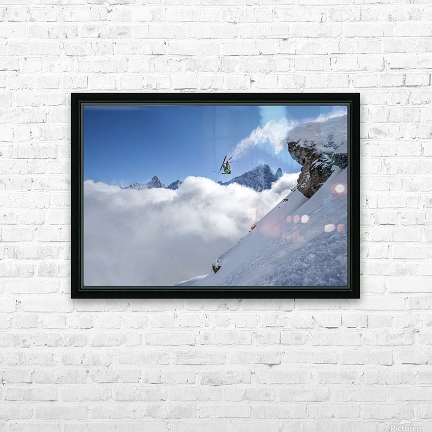 Lincoln Loop HD Sublimation Metal print with Decorating Float Frame (BOX)