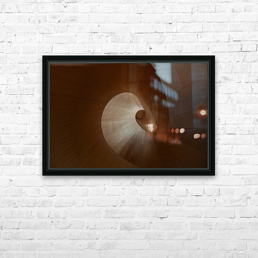 Spiral by Heather Bonadio  HD Sublimation Metal print with Decorating Float Frame (BOX)