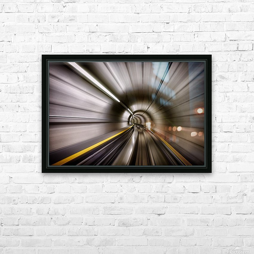 In HD Sublimation Metal print with Decorating Float Frame (BOX)