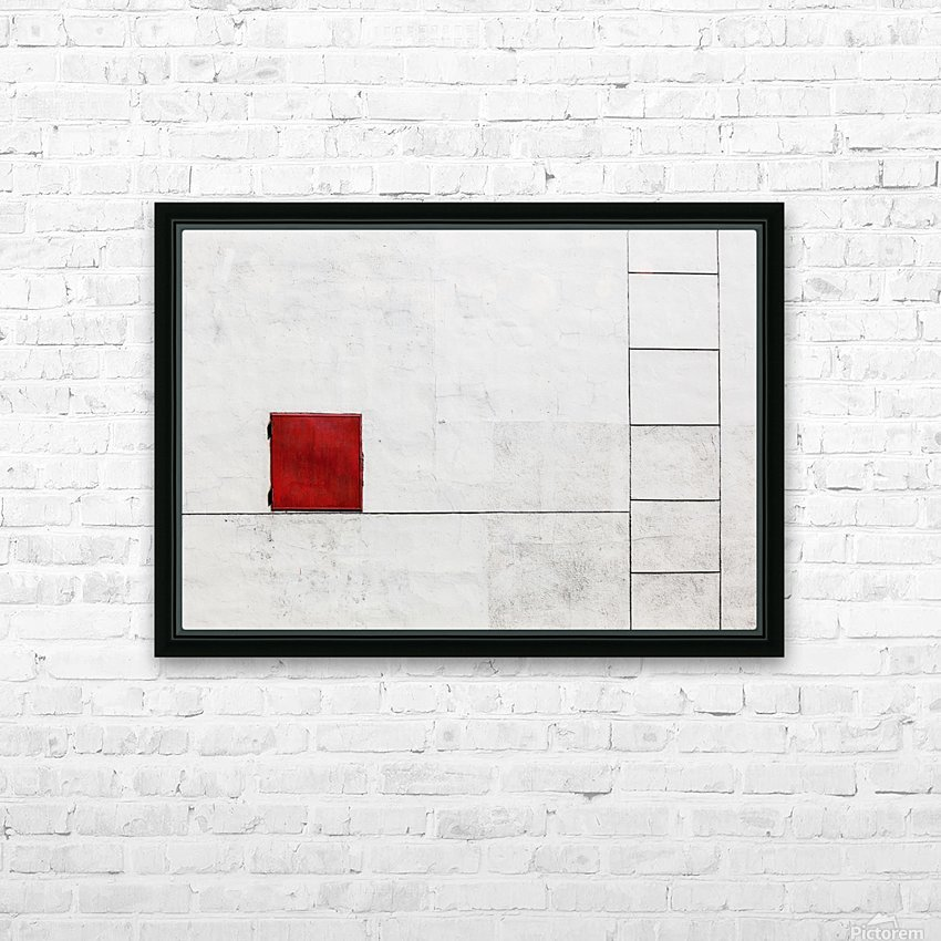Suprematism is all Around HD Sublimation Metal print with Decorating Float Frame (BOX)