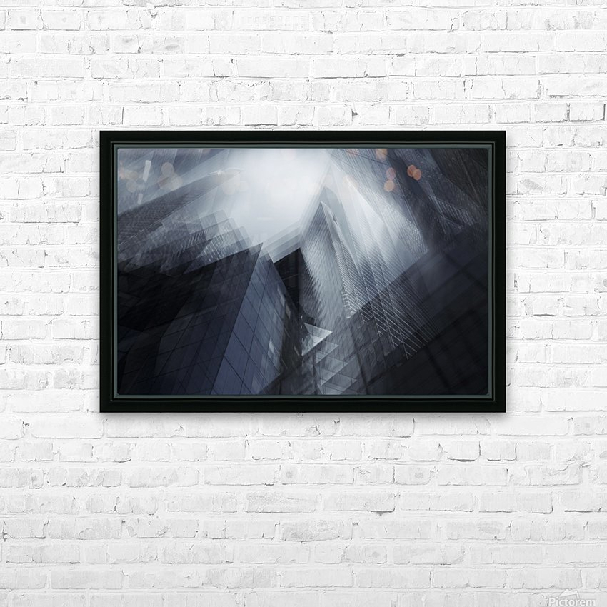 Parallel by Sebastien DEL GROSSO HD Sublimation Metal print with Decorating Float Frame (BOX)