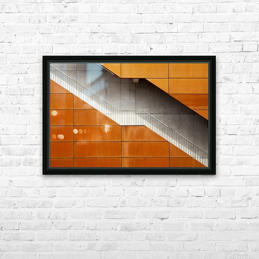 Steel HD Sublimation Metal print with Decorating Float Frame (BOX)