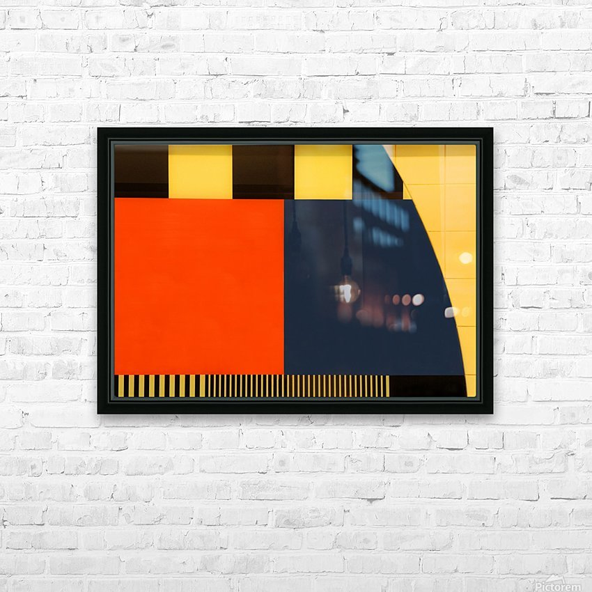 NOS Testscreen  03 by Huib Limberg  HD Sublimation Metal print with Decorating Float Frame (BOX)