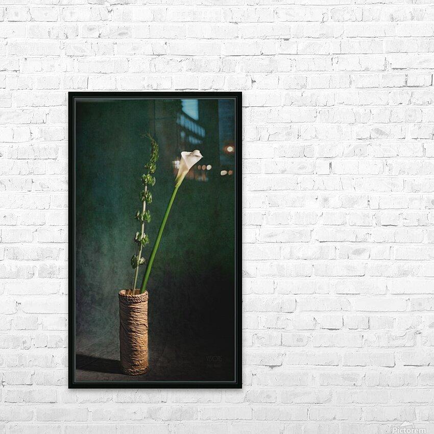 Etude Zen 3m HD Sublimation Metal print with Decorating Float Frame (BOX)