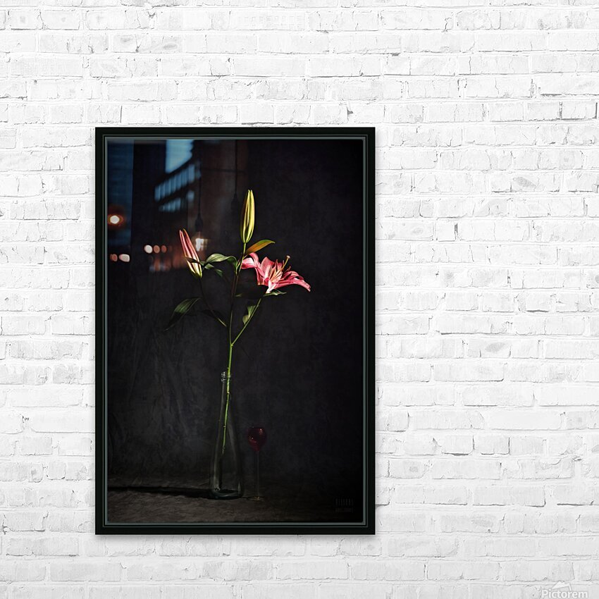 Etude Zen 4f HD Sublimation Metal print with Decorating Float Frame (BOX)