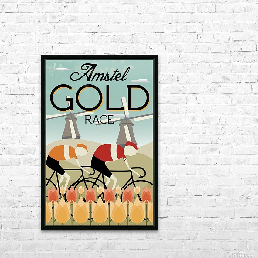 Amstel Gold Race HD Sublimation Metal print with Decorating Float Frame (BOX)