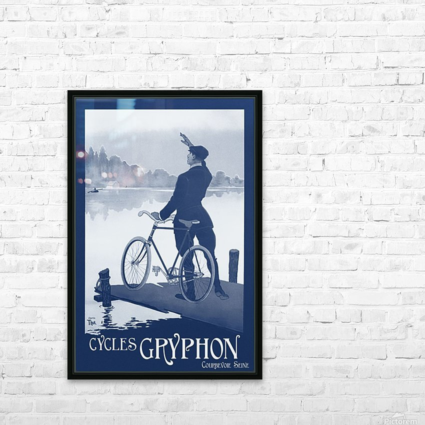 Cycles Gryphon HD Sublimation Metal print with Decorating Float Frame (BOX)