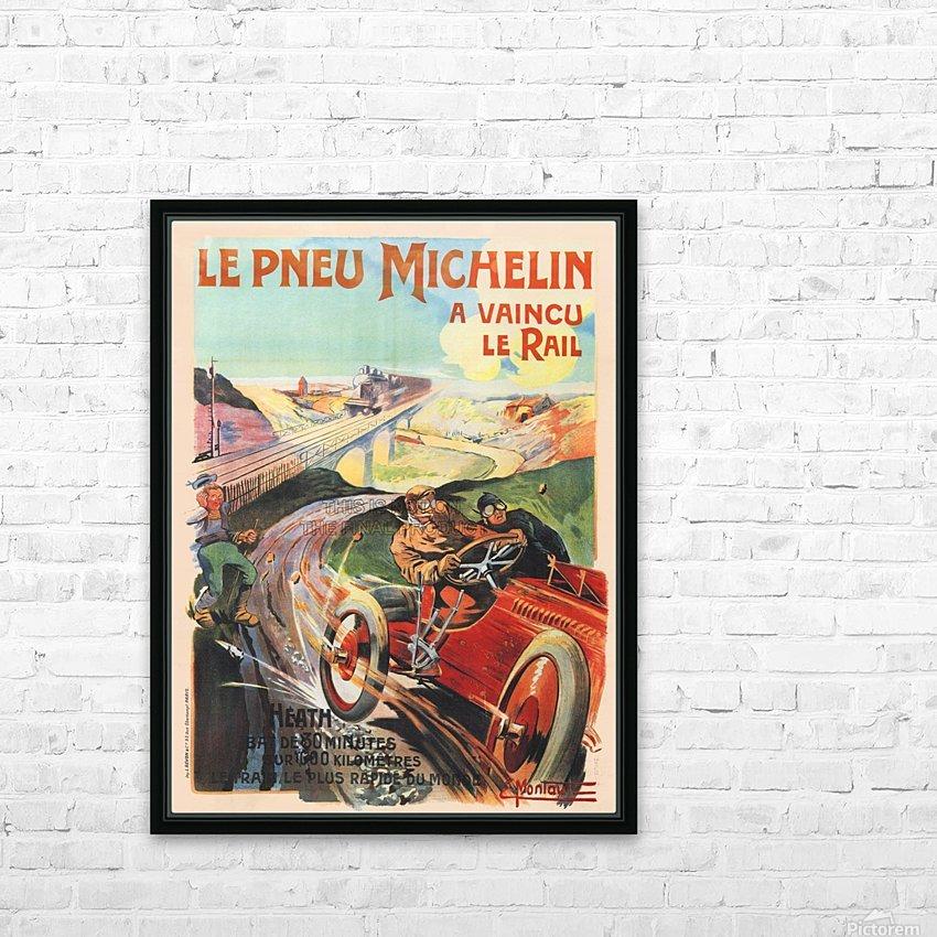 Le Pneu Michelin a vaincu le rail HD Sublimation Metal print with Decorating Float Frame (BOX)