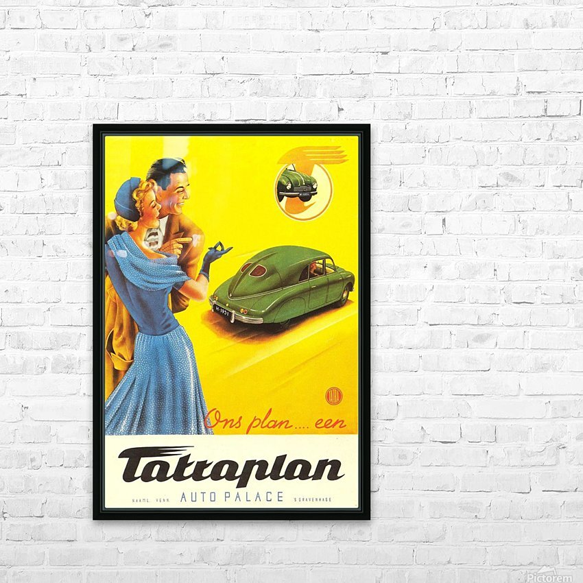 Tattaplan HD Sublimation Metal print with Decorating Float Frame (BOX)
