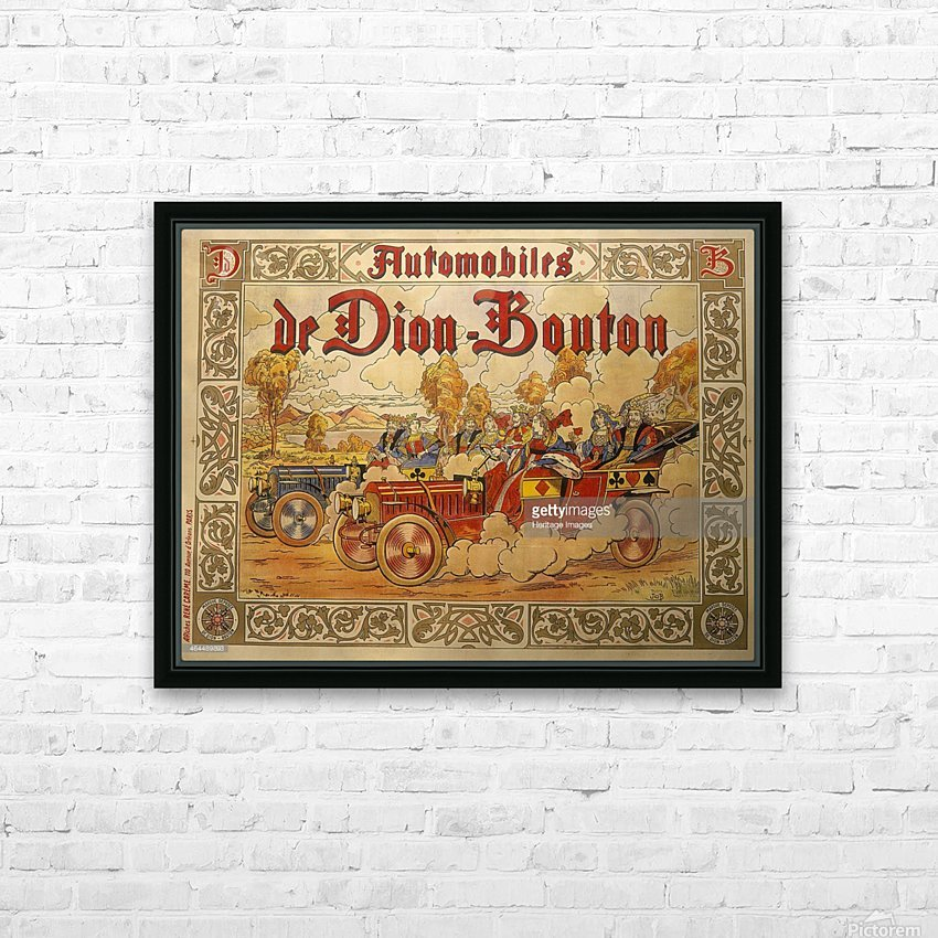 Dion Bouton HD Sublimation Metal print with Decorating Float Frame (BOX)
