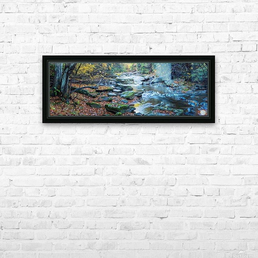 Cowanshannock Creek apmi 1982 HD Sublimation Metal print with Decorating Float Frame (BOX)