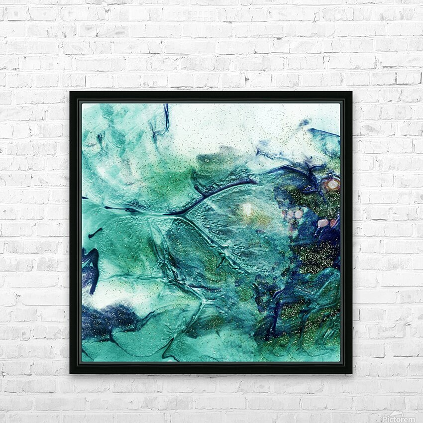 Roots 2 HD Sublimation Metal print with Decorating Float Frame (BOX)