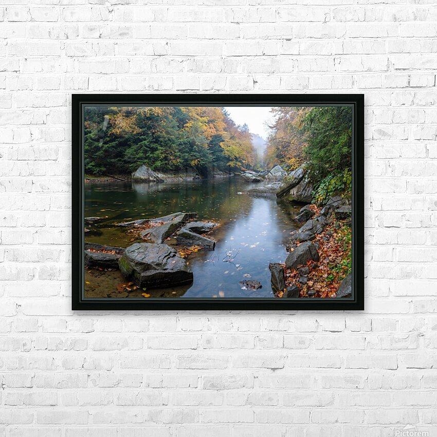 Slippery Rock Creek apmi 1924 HD Sublimation Metal print with Decorating Float Frame (BOX)