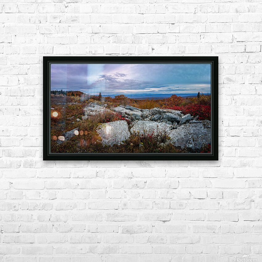 The Colors of Nature apmi 1780 HD Sublimation Metal print with Decorating Float Frame (BOX)