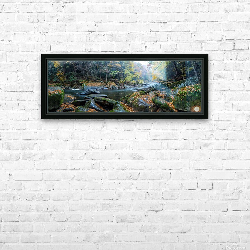 Slippery Rock Creek apmi 1931 HD Sublimation Metal print with Decorating Float Frame (BOX)