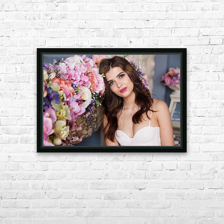 European brides HD Sublimation Metal print with Decorating Float Frame (BOX)