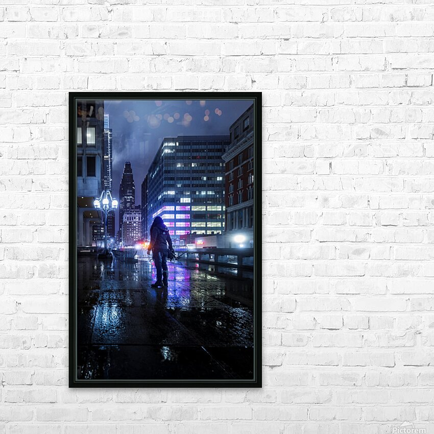 Never Tomorrow HD Sublimation Metal print with Decorating Float Frame (BOX)