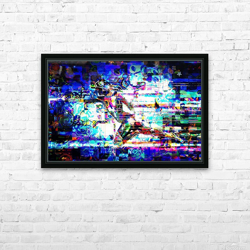 Flash1 HD Sublimation Metal print with Decorating Float Frame (BOX)