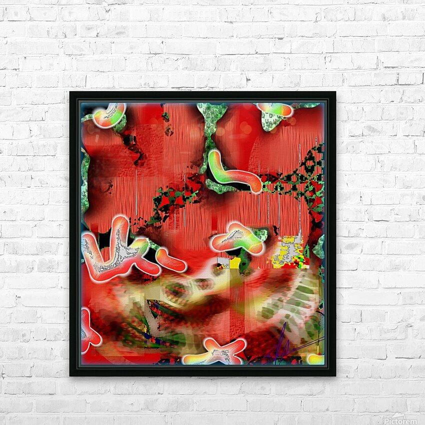 Residents of a Growling Stomach HD Sublimation Metal print with Decorating Float Frame (BOX)