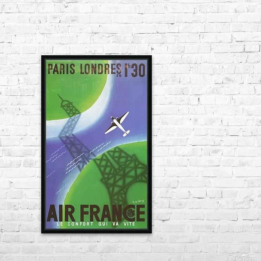 Paris Londer HD Sublimation Metal print with Decorating Float Frame (BOX)