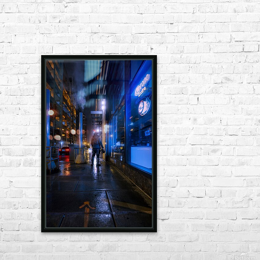 Surface HD Sublimation Metal print with Decorating Float Frame (BOX)