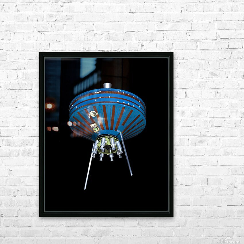 NASA Pioneer SatPioneer 1 Satellite Outer Space Image Space Imageellite Replica HD Sublimation Metal print with Decorating Float Frame (BOX)