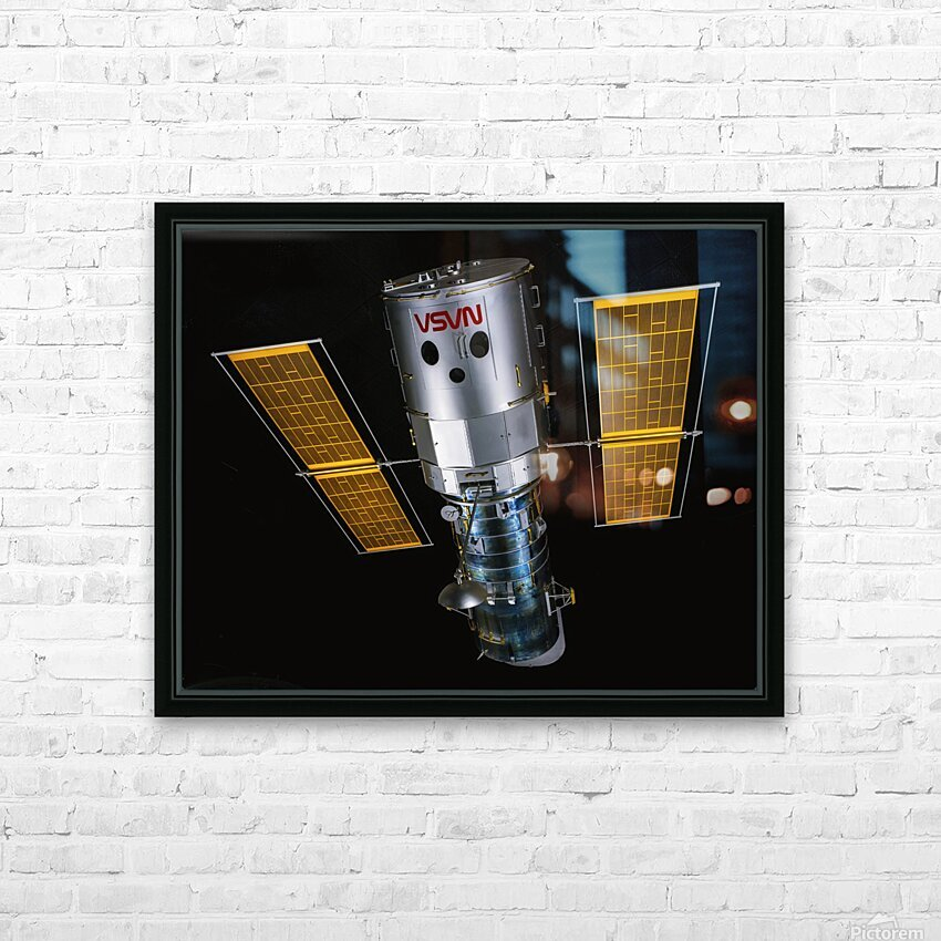 NASA Hubble Space Telescope - Outer Space Image HD Sublimation Metal print with Decorating Float Frame (BOX)