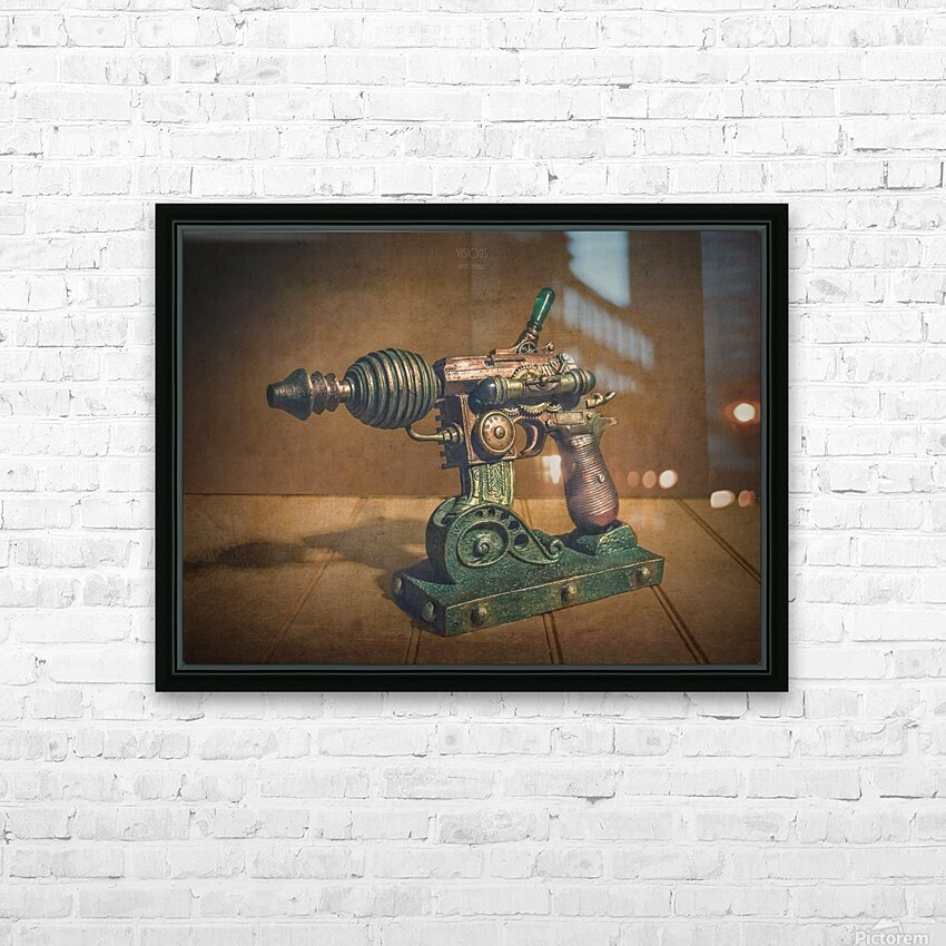 Steampunk 1 HD Sublimation Metal print with Decorating Float Frame (BOX)