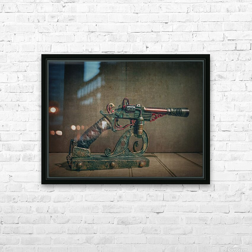 Steampunk 2 HD Sublimation Metal print with Decorating Float Frame (BOX)