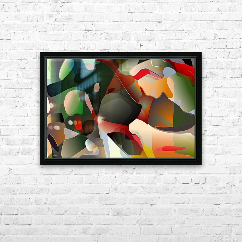sacred cow HD Sublimation Metal print with Decorating Float Frame (BOX)