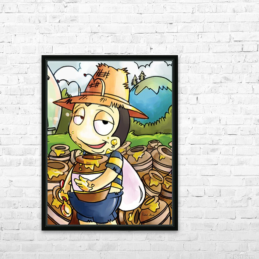 Honey Trouble for  Buster Bee HD Sublimation Metal print with Decorating Float Frame (BOX)