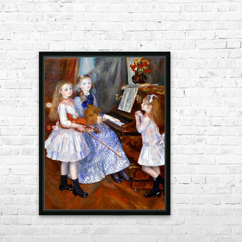 The daughters of Catulle Mendes HD Sublimation Metal print with Decorating Float Frame (BOX)